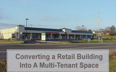 Converting a Retail Building into a Multi-Tenant Space