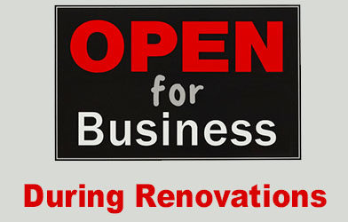 Staying Open for Business During a Commercial Renovation