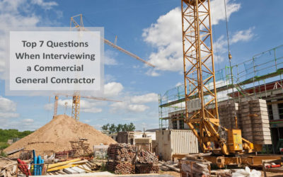 Top Questions When Interviewing a Commercial General Contractor